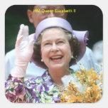HM reina Elizabeth Ii-Hong Kong-1987 Colcomania Cuadrada