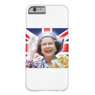 HM reina Elizabeth II - la reina Funda De iPhone 6 Barely There
