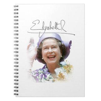 HM reina Elizabeth II Libreta