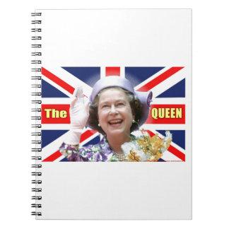 HM reina Elizabeth II Libreta Espiral