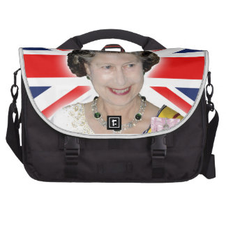 ¡HM reina Elizabeth II - majestuosa Bolsas De Ordenador