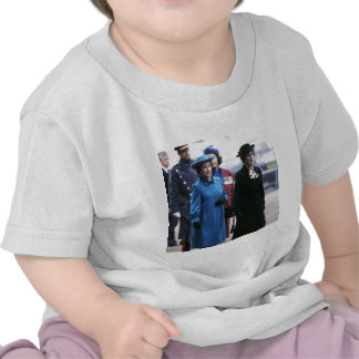 HM reina Elizabeth Ii-Margaret Thatcher Camiseta