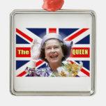 HM reina Elizabeth II Ornamentos Para Reyes Magos