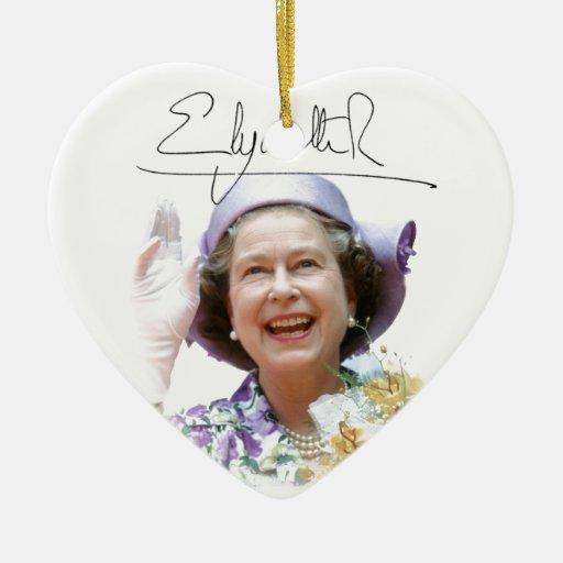HM reina Elizabeth II Ornatos