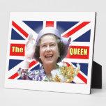 HM reina Elizabeth II Placas Para Mostrar