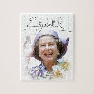 HM reina Elizabeth II Puzzle