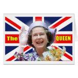 HM reina Elizabeth II Tarjetón