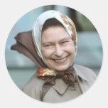 HM reina Elizabeth II-Windsor 1983 Pegatinas