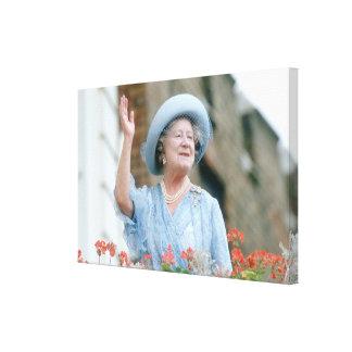 HM reina Elizabeth, la reina madre 1985 Impresion En Lona