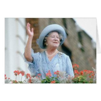 HM reina Elizabeth, la reina madre 1985 Tarjeta De Felicitación