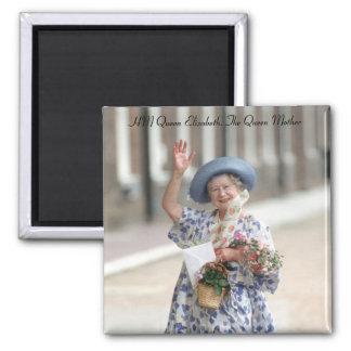 HM reina Elizabeth la reina madre 1988 Imanes Para Frigoríficos