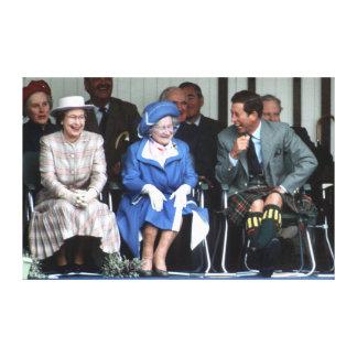 HM reina Elizabeth, la reina madre 1988 Impresiones En Lona Estiradas