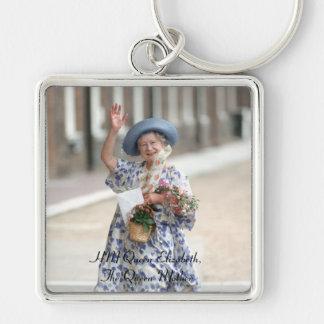 HM reina Elizabeth la reina madre 1988 Llavero Personalizado