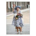 HM reina Elizabeth la reina madre 1988 Tarjeta De Felicitación