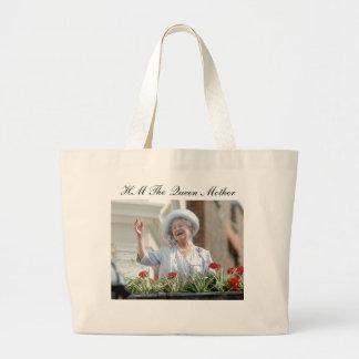HM reina Elizabeth, la reina madre 1990 Bolsa Tela Grande