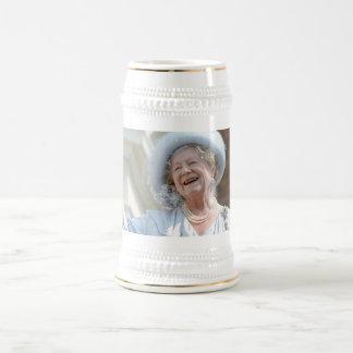 HM reina Elizabeth, la reina madre 1990 Jarra De Cerveza
