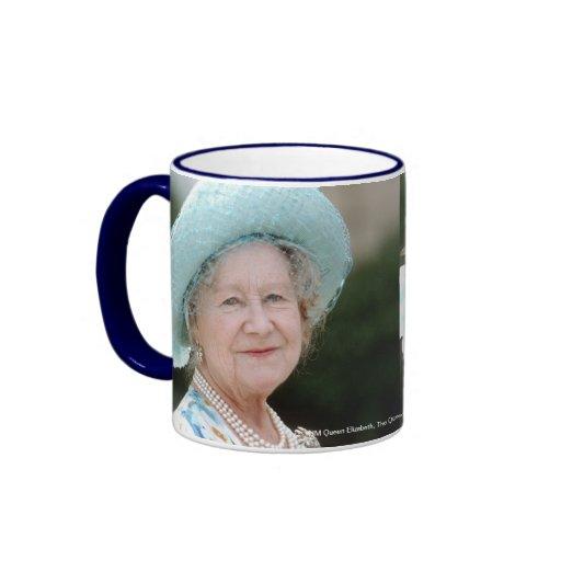 HM reina Elizabeth, la reina madre Berlín 1987 Taza