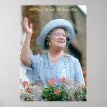 HM reina Elizabeth, la reina madre Póster