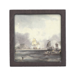 HM Ships Imogene and Andromache passing the Batter Premium Trinket Boxes