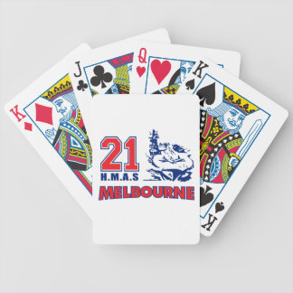 HMAS Melbourne Stuff Bicycle Playing Cards