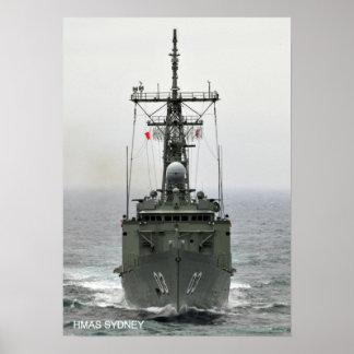 HMAS Sydney (FFG 03) Posters