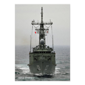 HMAS Sydney (FFG 03) Poster