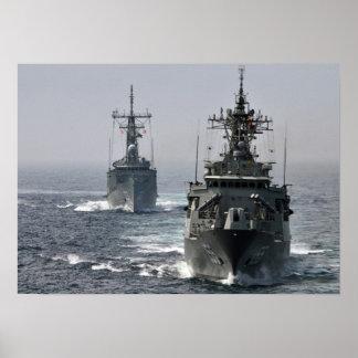 HMAS Sydney HMAS Ballarat Poster