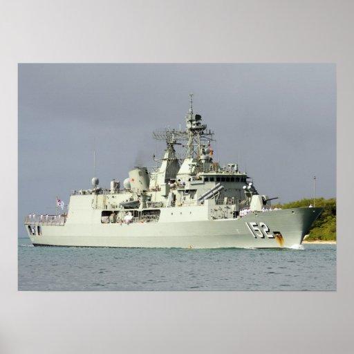 HMAS Warramunga (FFGH 152) Poster