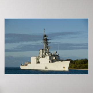 HMCS Algonquin (DDG 283) Poster