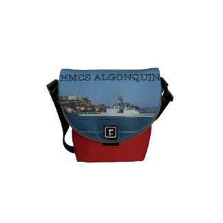 HMCS Algonquin Messenger Bags