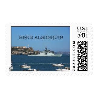 HMCS ALGONQUIN POSTAGE