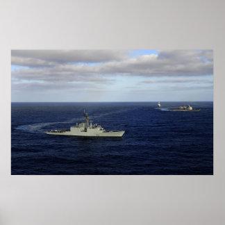 HMCS Algonquin Poster