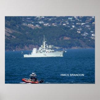 HMCS Brandon Posters