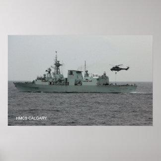 HMCS Calgary (FFH 335) Poster