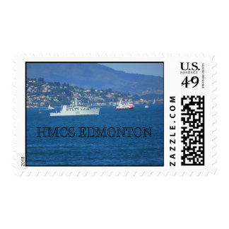 HMCS Edmonton Postage Stamp