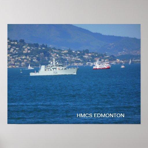 HMCS Edmonton Póster