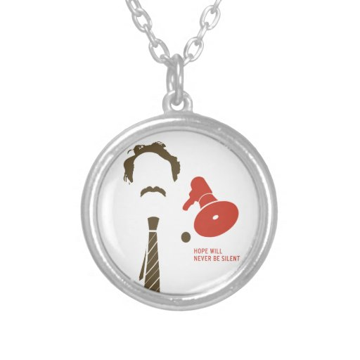 HMDayFaceTShirt Personalized Necklace