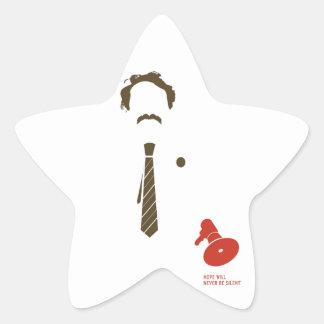 HMDayFaceTShirt Star Sticker