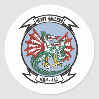 HMH-462 Heavy Haulers Classic Round Sticker