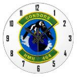 HMH 464      CONDORS WALL CLOCK
