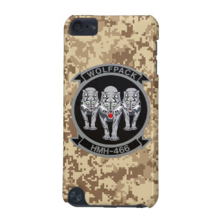 HMH-466 Wolfpack Marine Camo iPod Touch (5th Generation) Cases