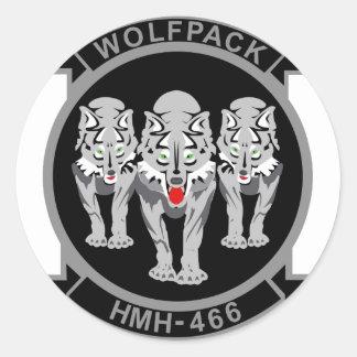 HMH-466 Wolfpack Pegatina