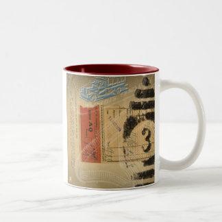 HMK Mystery Stream 003 Two-Tone Coffee Mug