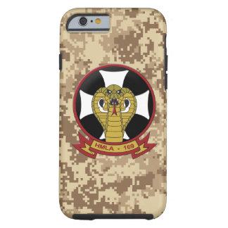 """HMLA-169 """"víboras"""" Camo marino Funda De iPhone 6 Tough"""