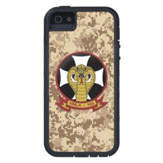 """HMLA-169 """"víboras"""" Camo marino iPhone 5 Carcasa"""