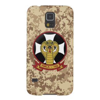 "HMLA-169 ""Vipers"" Marine Camo Case For Galaxy S5"