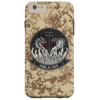 "HMLA-269 ""el Gunrunners"" Camo marino Funda De iPhone 6 Plus Tough"