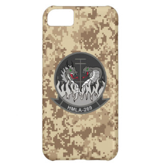 "HMLA-269 ""el Gunrunners"" Camo marino Funda Para iPhone 5C"