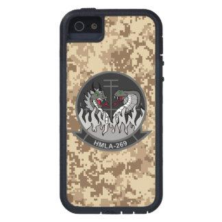 "HMLA-269 ""el Gunrunners"" Camo marino iPhone 5 Fundas"