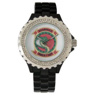 """HMLA-367 """"caracortada """" Relojes De Pulsera"""